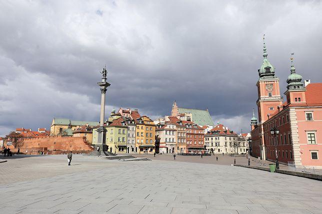 Pogoda. Warszawa. 16 maja chłodny, ale bez deszczu