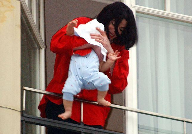 Blanket to najmłodsze dziecko Jacksona