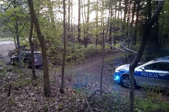 Śląskie. Policjanci z Wręczycy Wielkiej zatrzymali 36-letniego kierowcę bmw, który nie zatrzymał się do kontroli drogowej.