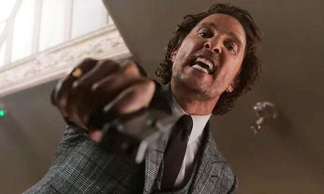 """Matthew McConauhey w filmie """"Dżentelmeni"""""""