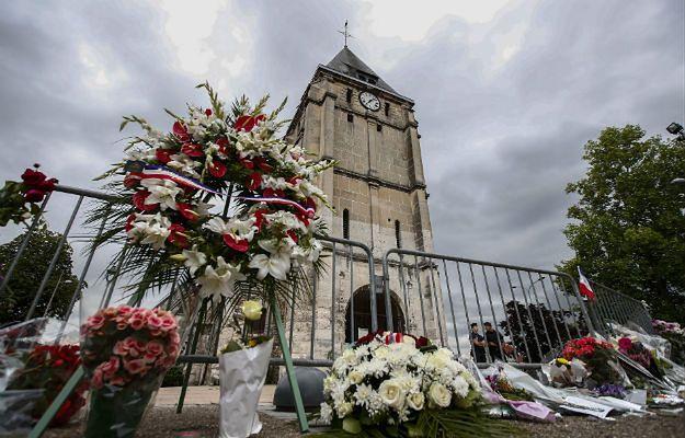 Śledztwo po zabójstwie francuskiego księdza. Aresztowano dwóch podejrzanych
