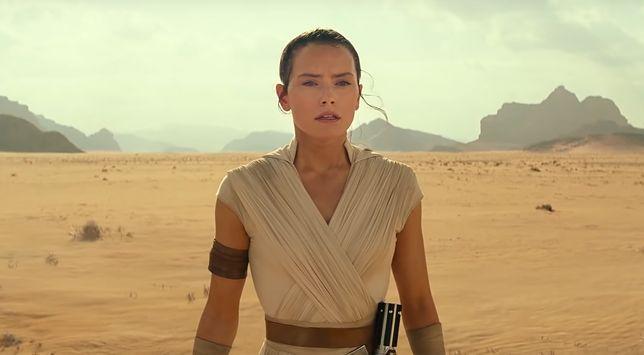 "Rey w ""The Rise of Skywalker"""