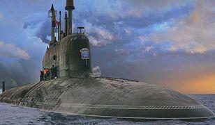 Współczesny rosyjski okręt podwodny projektu 885