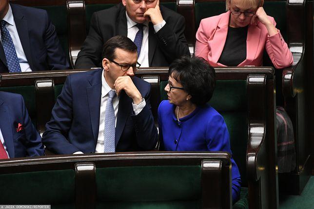 Mateusz Morawiecki odniósł się do oskarżeń pod adresem Elżbiety Witek