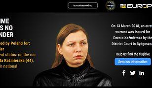 Polka Dorota Kaźmierska jest poszukiwana za morderstwo