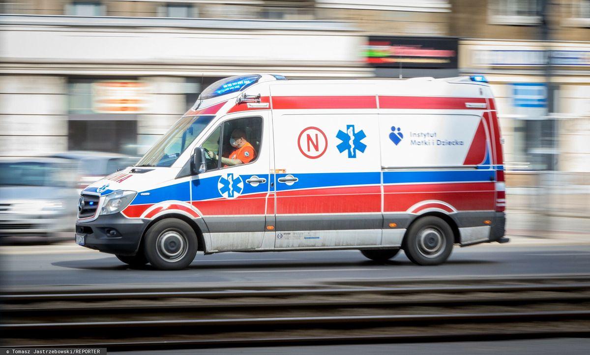 W wypadku ucierpiało 7-letnie dziecko/Zdjęcie ilustracyjne