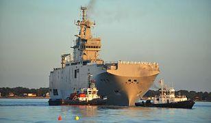 """""""Wierzymy, że Francja jednak dostarczy okręty typu Mistral"""""""
