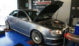 Audi RS4 i S5 z kompresorami TTS Rotrex