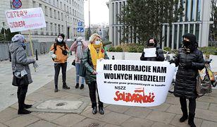 Niedziela handlowa grudzień 2020. Solidarność protestuje przeciwko dodatkowej niedzieli z pozwoleniem na handel