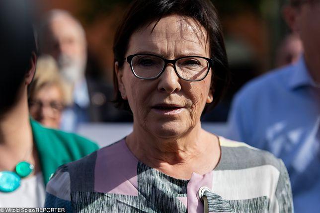 Wybory parlamentarne 2019. Ewa Kopacz chce spłacić dług wobec partii