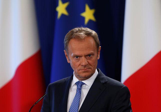 """Tusk potępił atak chemiczny w Syrii. """"Winni muszą zostać ukarani"""""""