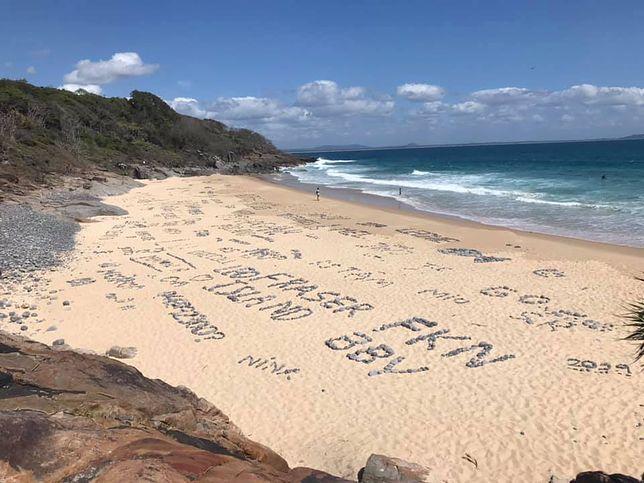 Informacja o zniszczonej plaży rozwścieczyła miejscowych. Według nich turyści przekroczyli niedopuszczalną granicę