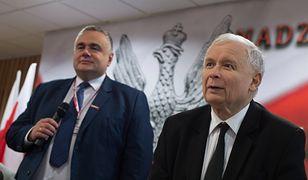 Tomasz Sakiewicz i Jarosław Kaczyński