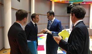 Premier Morawiecki rozmawiał z prezydentem Macronem