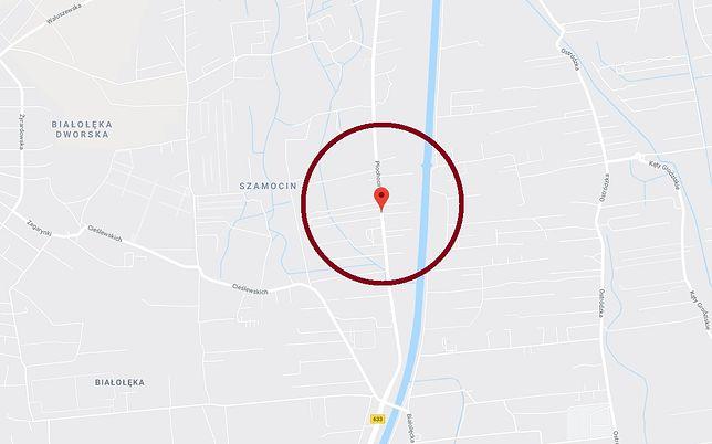 Warszawa. Białołęka. Policja ścigała pojazd na ul. Płochocińskiej