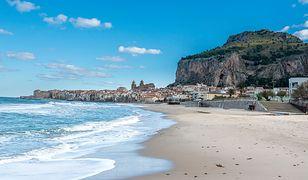 Plaża Cefalù jest jedną z najbardziej malowniczych we Włoszech