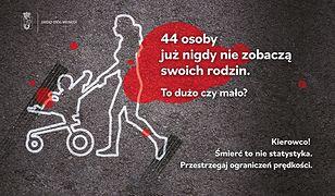 Warszawa. 44 ofiary wypadków drogowych. Stolica z nową kampanią dla kierowców