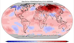 Anomalie temperaturowe w Rosji. Nawet 35 st. C w cieniu