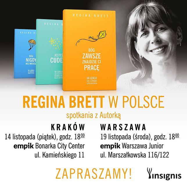 Regina Brett w Polsce