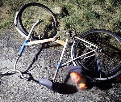 Śląskie. Dwa poważne wypadki z udziałem rowerzystów. Jeden śmiertelny