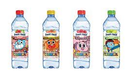 """Bohaterowie dziecięcego hitu """"Niesamowity świat Gumballa"""" na etykietach produktów Żywiec Zdrój®"""