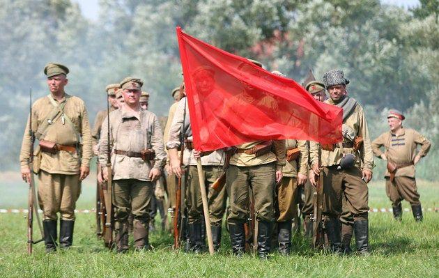 Bolszewika goń, goń, goń!