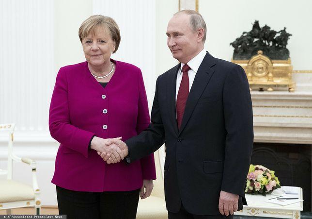 Angela Merkel oraz Władimir Putin (zdj. arch.)
