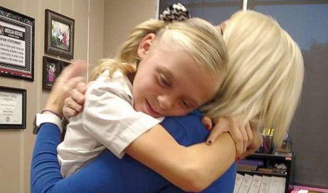 Kilka sekund i mnóstwo wzruszeń. 11-letnia dziewczynka dowiedziała się, że została adoptowana