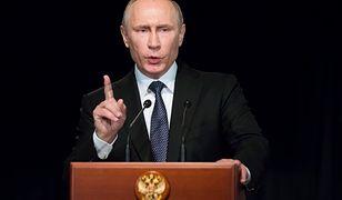 Prezydent Rosji mówi,  że to odpowiedź na decyzję USA