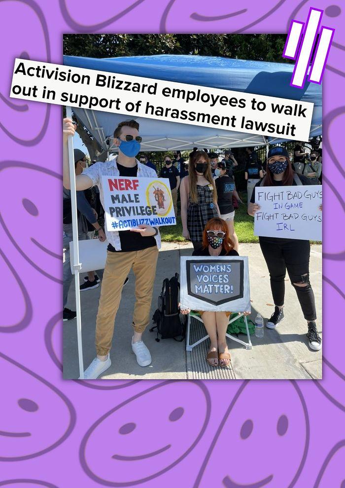 Activision: protesty w firmie narastają
