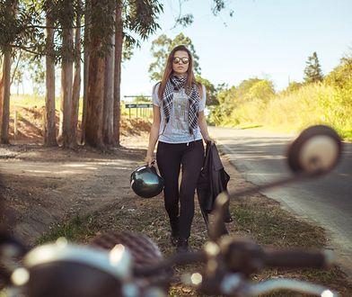 Legginsy motocyklowe słabo chronią w razie wypadku.