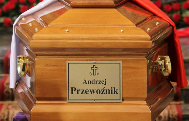 Kolejna ekshumacja - Andrzeja Przewoźnika
