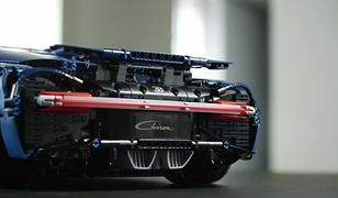 Bugatti Chiron z Lego Technic