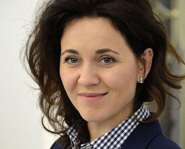 Kornelia Wróblewska przyszła do Sejmu z dwumiesięczną córką