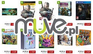 Black Friday w Muve. Ponad 1000 gier, gadżety i sprzęt w promocji