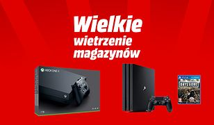 Wietrzenie magazynów Media Markt. Xbox One X i PS4 poniżej 1400 zł. Promocje na elektronikę gry