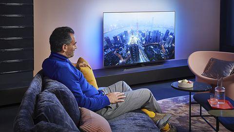 Eksperci uznali Philips OLED855 najpiękniejszym telewizorem 2020 roku