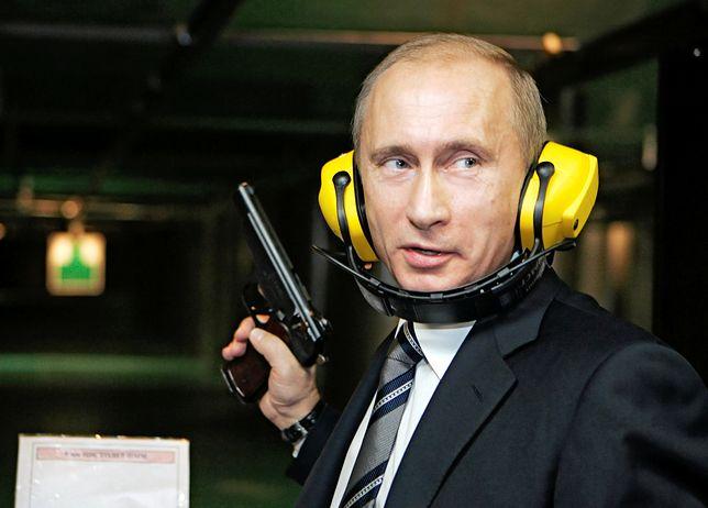 Prezydent Putin, były oficer wywiadu, nigdy nie stronił od konfrontacji