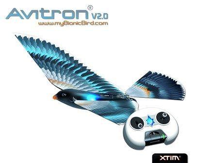 Avitron 2.0 – zdalnie sterowany ptak