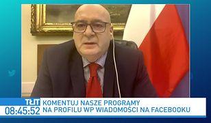 """""""To chore i niezrozumiałe"""". Piotr Zgorzelski zdumiony słowami ministra Grzegorza Pudy"""