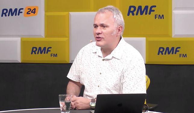 Robert Mazurek podziękował szefowej Kliniki Onkologii Centrum Zdrowia Dziecka na antenie