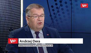 Dziwny wywód ministra z kancelarii Andrzeja Dudy. Poszło o LGBT+