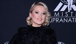 Miss Polski 2019. Gosia Andrzejewicz postawiła na małą czarną