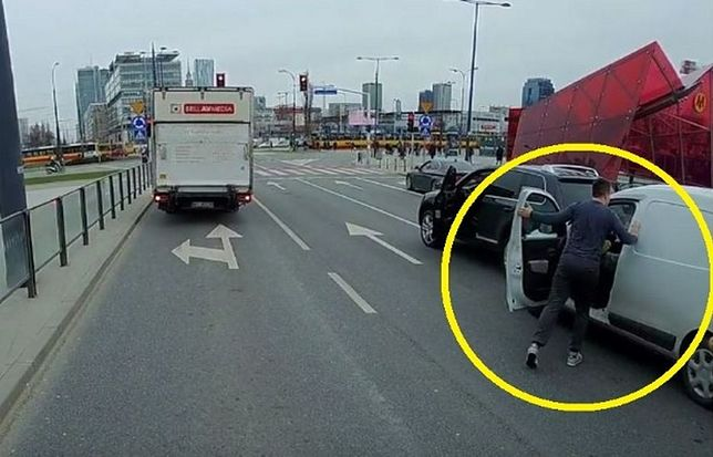 Kierowcy puściły nerwy. Wszystko nagrała kamera
