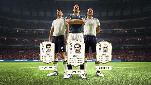 Zinedine Zidane dołącza do legend w FUT w FIFA 20