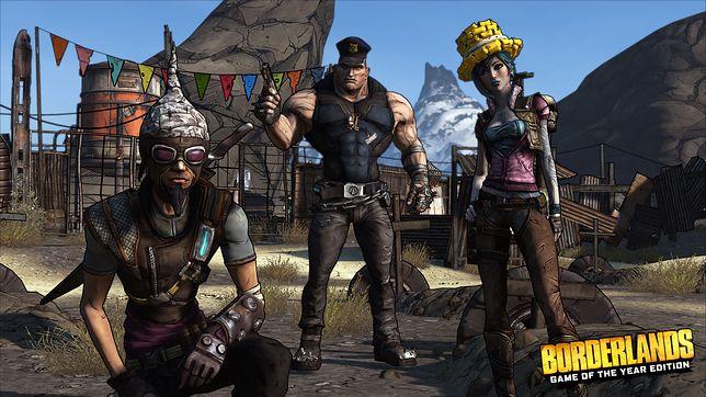 Borderlands - seria świetnych, zabawnych gier w których wcielamy się w poszukiwacza skarbów. To strzelanki z komiksową grafiką.