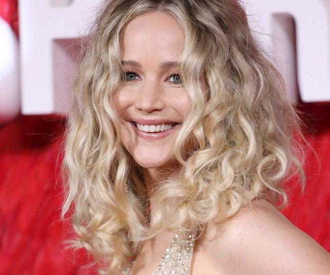 Jennifer Lawrence dawno nie była tak szczęśliwa