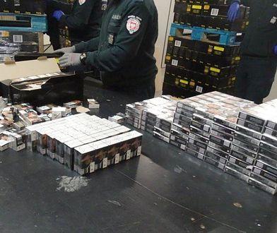Największy przemyt papierosów w tym roku udaremnił podkarpacki odział Krajowej Administracji Skarbowej