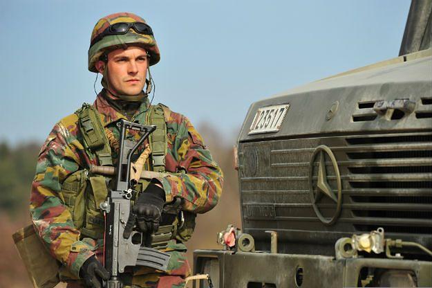Żołnierze będą pilnować elektrowni atomowych w Belgii