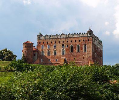 Biała dama z zamku w Golubiu-Dobrzyniu